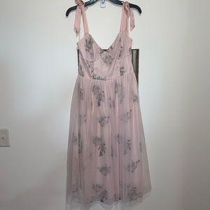 Chelsea & Violet NWT Tulle Midi Dress sz Medium